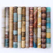 Holzoptik Tapete Selbstklebende Folie Klebefolie Möbelfolie Tür Küche Wand Deko