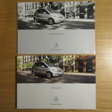 MERCEDES A CLASS W168 A140 A160 A190 A170 CDI UK Brochure & Price List 2001