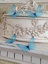 Turquoise Butterfly Decals Reusable Wedding Table Drapes Blue 3D Any Color