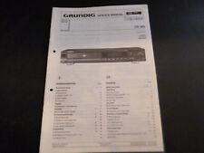 Original Service Manual Schaltplan Grundig CD 303