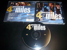George Coleman, Mike Stern, Ron Carter, Jimmy Cobb ‎– 4 Generations Of Miles CD