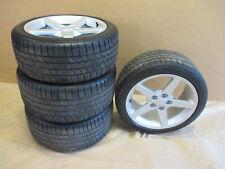 GM C6 Corvette Wheels & Tires Silver 19x10 / 18x8.5  Set of 4 0728-2