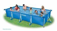 Piscina Intex 28274FR marco rectangular 450 X 220 X 84cm Enmarcado piscina de la familia