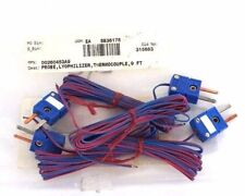 LOT OF 4 NEW OMEGA 00260453A9 PROBE LYOPHILIZER THERMOCOUPLES 9 FT