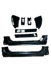 73 87 Chevy & GMC 8Pc Cab Repair Kit X-Rocker, Cab Corner, Inner & Floor Support