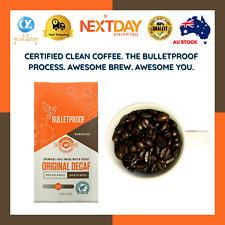 BULLETPROOF COFFEE 340G ORIGINAL SWISS WATER DECAF GROUND ARABICA BEANS ASPREY