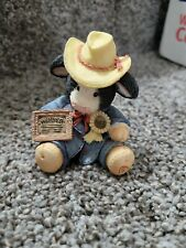 Enesco Mary's Moo Moos Cow Figurine Prime Choice #125660 1994