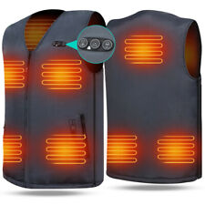 ARRIS Electric Heated Vest Size Adjustable w/ 7.4V Battery for Men Women Outdoor