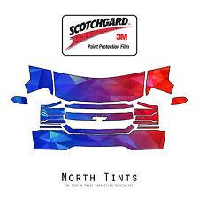 Chevrolet Silverado 1500 16-2018 PreCut 3M Scotchgard Paint Protection Clear Bra