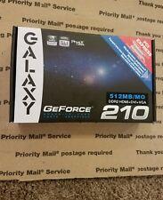 galaxy geforce 210  512mb. DDR2