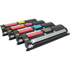 4x Toner-SET QMS Magicolor 2400 W 2430 2450 2480 DL MF