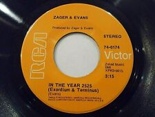 Zager & Evans In The Year 2025 / Little Kids 45 1969 RCA Vinyl Record