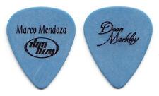 Thin Lizzy Marco Mendoza Blue Dean Markley Guitar Pick - 2003 Tour