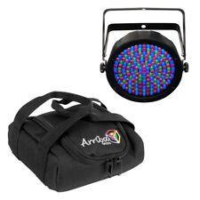 Chauvet SLIMPAR64RGBA LED Par 64 RGBA Light Fixture w/ AC50 Lighting/Gear Bag