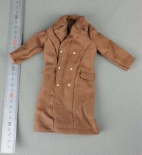 "1/6 Dragon Model WW2 US Wool Overcoat Coat Greatcoat Dress for 12"" Action Figure"