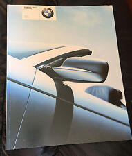 2002 BMW 3 Series 325Ci 330Ci E46 Prestige US Dealer Sales Brochure