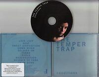 THE TEMPER TRAP Conditions 2009 UK 10-track promo CD