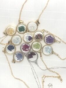 Custom made Mother's Day Shaker Locket. Choose your own birthstones and Locket