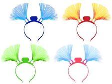 Serre-tête avec bouquets de fibres optiques lumineux à LED pour adulte et enfant