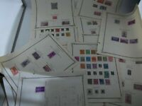 LOT of Vintage 1930's US Stamps, Perforated Hinged, Estate Find