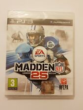 MADDEN NFL 25 1989-2014 PS3 Pal Uk(ingles)NUEVO y SELLADO de fabrica