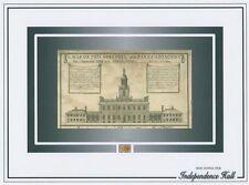 INDEPENDENCE HALL July 4, 1776 WOOD SHAVINGS signing of declaration Philadelphia
