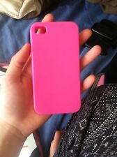 silicone iphone 4 case Pink