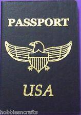 EK SUCCESS JOLEE'S 3-D EMBELLISHMENT - AMERICA UNITED STATES REPLICA  PASSPORT