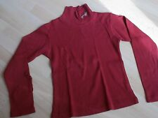 pull  fille 10 ans  rouge marque POMME FRAMBOISE