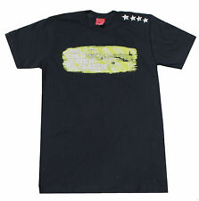 O'Neill COLDWATER CLASSIC Mens 2006 Surf T-Shirt Black Green White Small NEW