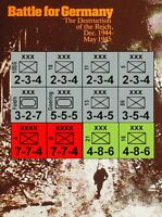 Variant Counters & Rules for Battle For Germany (SPI, S&T, Strategy & Tactics)