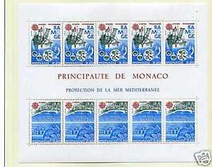 MONACO - 1986 - Bloc yvert 34 - EUROPA - neuf**