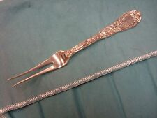 """Chrysanthemum by Tiffany & Co. Sterling Silver Fruit Fork 2-Tine 6"""""""