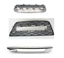 Front Left side Bumper Lateral&Chrome Grill& light for Mercedes Benz GL350 GL450