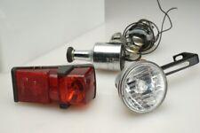 Vintage Germany Swiss Bicycle 6V Generator Light Set Nordlicht Bumm B&M