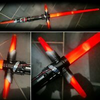 Star Wars Kylo Ren Lightsabre Lights & Sounds Electronic Blade Builders Hasbro