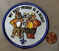 FAR EAST COUNCIL OA 803 498 ACHPATEUNY FLAP MY BEST FRIEND IS A SCOUT PATCH