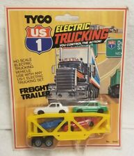 Vintage Tyco Us 1 Electric Trucking Auto Hauler with 4 cars #3946 - Rare Sealed
