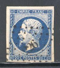 FRANCE 14Aa bleu foncé, ob 226, BADONVILLER, MEURTHE,  trace de pli sinon TB