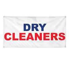 Vinyl Banner Multiple Options Dry Cleaners Outdoor Advertising Printing Business