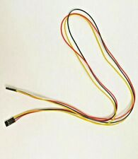 5 X Female To Female 3pin 26awg 70cm 254mm Dupont Jumper Wire Cable Connector