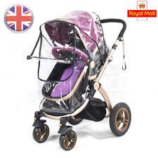 Universal Baby Buggy Pushchair Stroller Pram Transparent Rain Cover Wind Shield