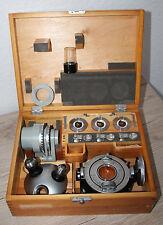 Zeiss Mikroskop Microscope Universal Drehtisch / U-Tisch nach Fedeorow