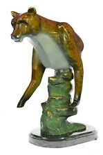 Bronze Mountain Lion/ Cougar/ Puma, Western Limited Edition Artwork Statue