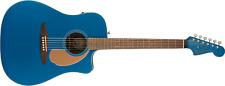Fender Redondo Player Electro Acoustic Guitar Belmont Blue