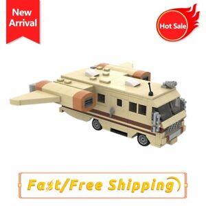 MOC Spaceballs Eagle Bus Model Assemble Building Blocks Bricks Kids Toy for Gift