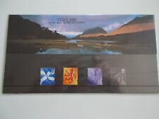 1999 Regional Machin Defins Scotland 2nd to 64p Presentation Pack no 45 Cat £14