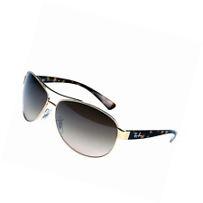 Ray-Ban Aviator Gold & Tortoise Shell Sunglasses with Brown Lenses, RB3386 001/1