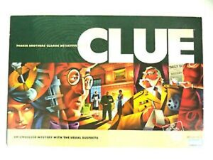 CLUE PARKER BROTHERS 2005 CLASSIC DETECTIVE BOARD GAME NEW SEALED 00045