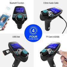 BLUETOOTH AUTO TRASMETTITORE FM ricevitore WIRELESS ADATTATORE MP3 Player T11